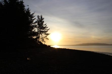 Tillamook Bay and Bayocean Peninsula, OR (c) S.M. Lennox