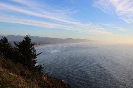 Sunshiny Winter on the Oregon Coast, Winter (c) S.M.Lennox 2014